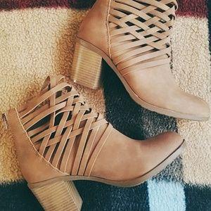 Shoes - NWOT* Wedge Heel Booties